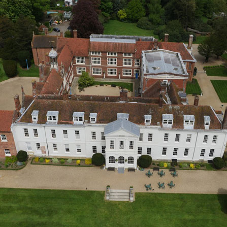 Aerial Photography Essex drones eye hall